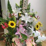 色々な意味でのお祝いをいただきました♪本当に豪華な花をありがとうございます!すごい(((o(*▽*)o)))#神楽坂 #早稲田#江戸川橋#美容院#美容室 #お祝い#花