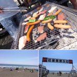 先日の定休日に辻堂海岸へBBQ〜しに美容師仲間と出かけて来ました!