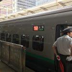 新幹線、つばさに乗るのは初めてです♪楽しみ(^^)