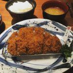 今日は帰りがけに神楽坂をフラフラ(^^)トンカツ屋さんで御飯食べてかえります(^^)#神楽坂#さくら #山形豚#美味しそう